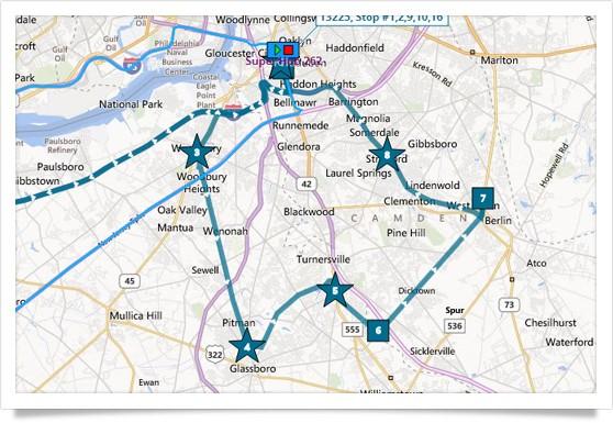 route optimization GPS fleet management solutions