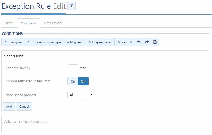 fleet-management-software-exception-rule